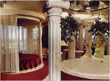 Fantasyland Hotel Theme Rooms Roman Room